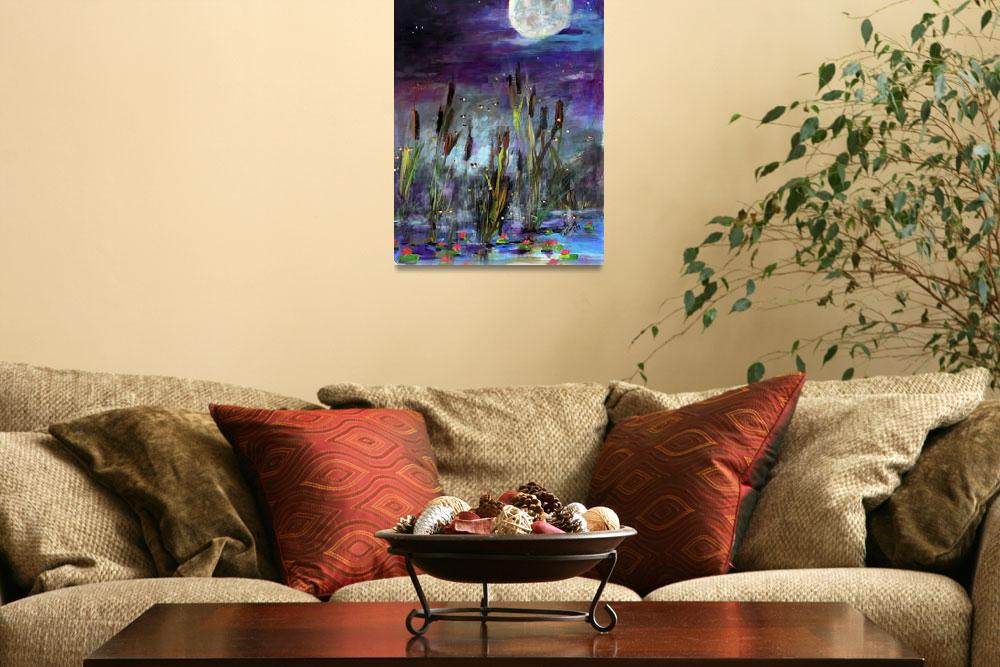 """Wish Upon The Stars Painting by Ginette&quot  (2011) by GinetteCallaway"