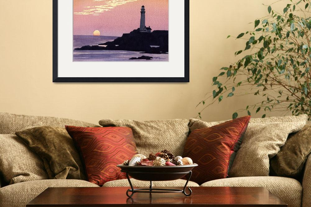 """Pigeon Point Lighthouse&quot  (2015) by k9artgallery"
