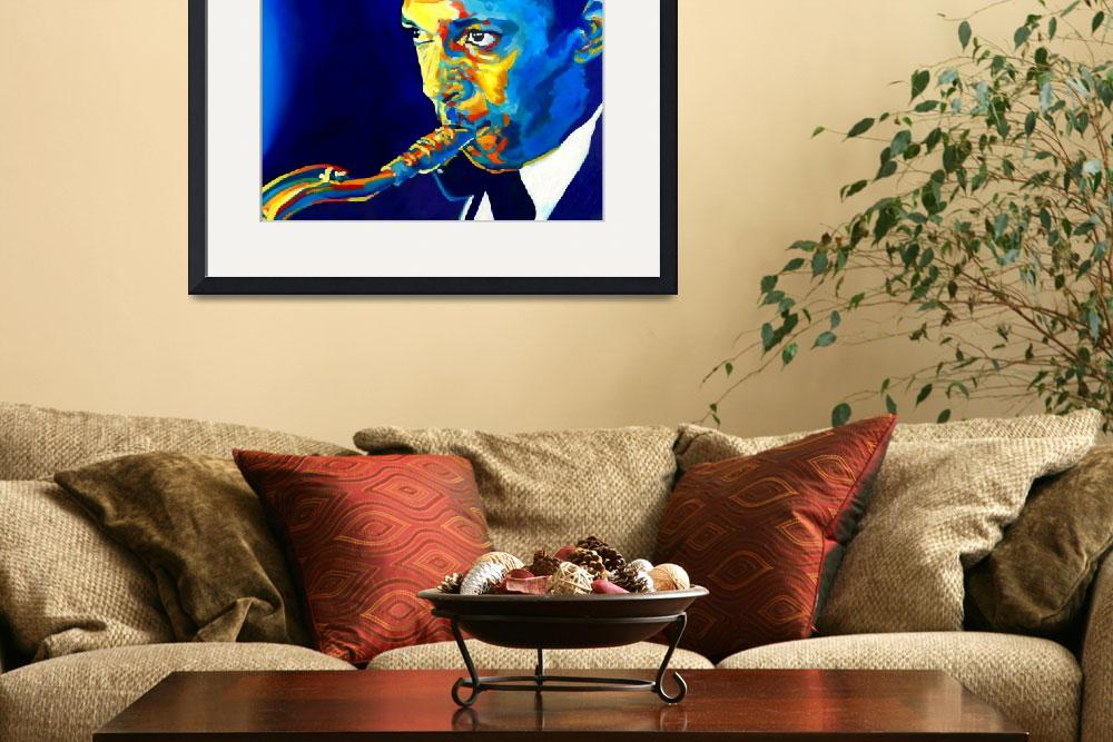 """Coltrane-Blu&quot  (2012) by Vel"