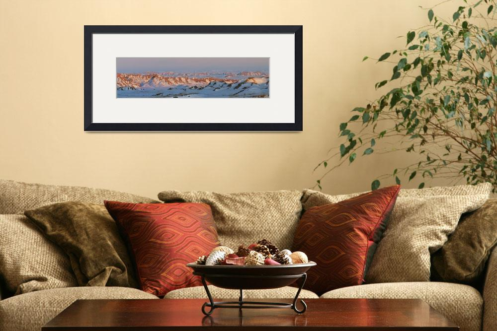 """Badlands panorama 2&quot  (2012) by gsquared"