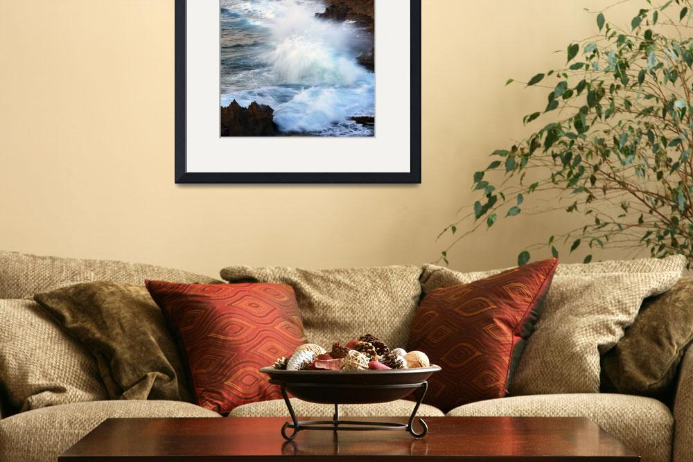 """Kauai Sea Explosion&quot  (2011) by Dawsonimages"