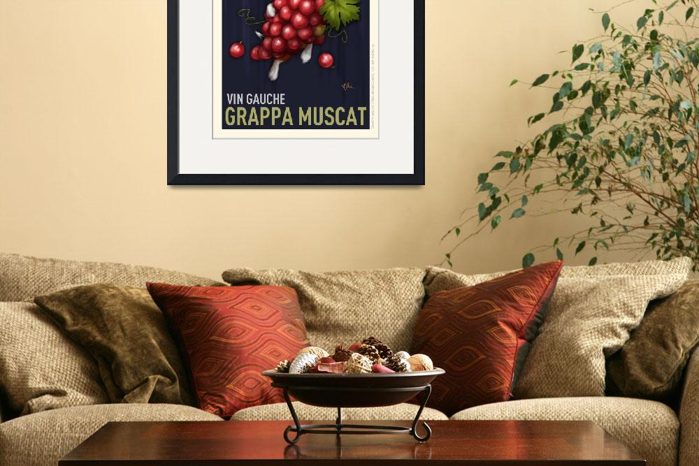 """Grappa Muscat Vin Gauche&quot  (2009) by OtisNewVintage"