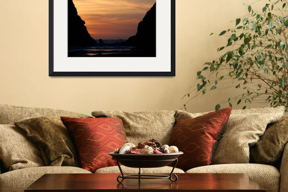 """Night Falls at Heceta Head&quot  (2012) by JohnDaly"