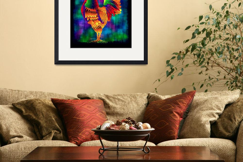 """Colorful Rooster (2)&quot  (2010) by myikpix"