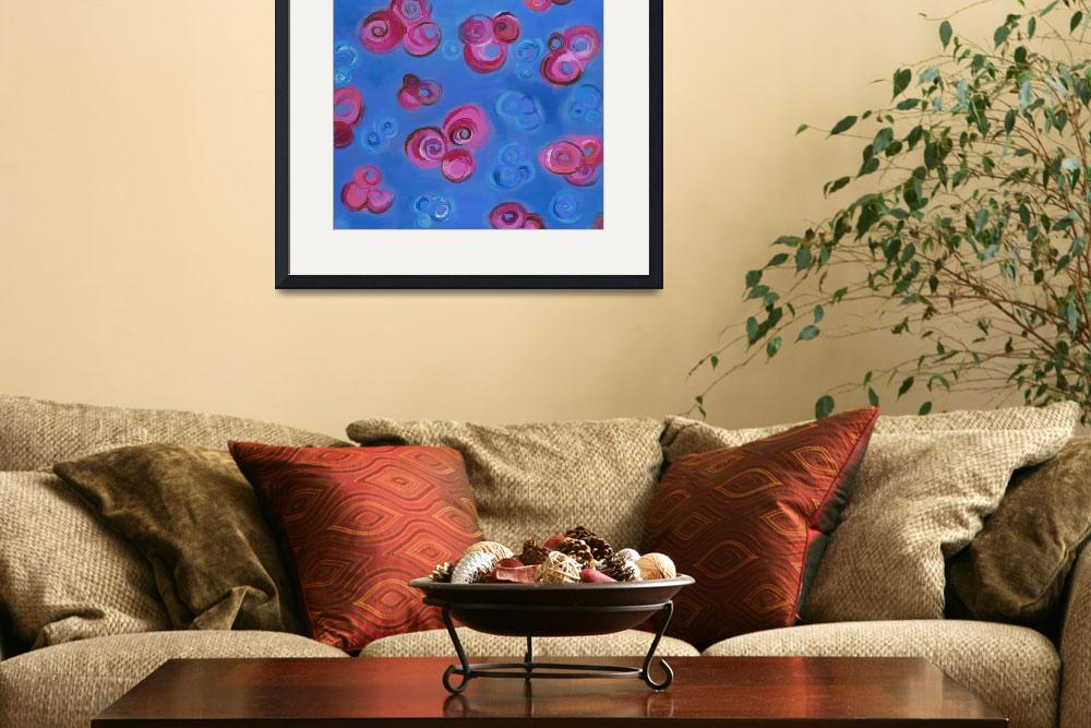 """pink roses at midnight&quot  (2007) by tartart"