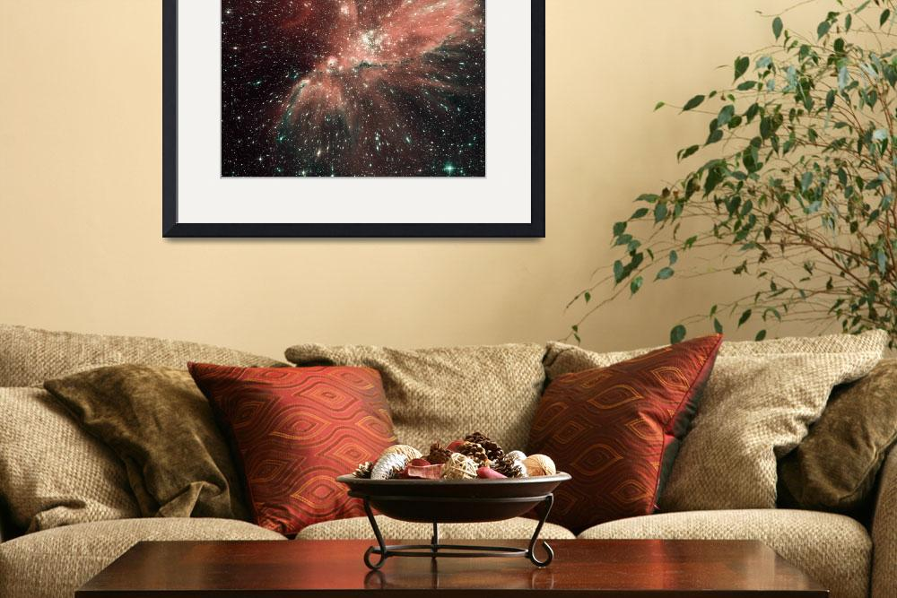"""A population of infant stars in the Milky Way sate&quot  by stocktrekimages"