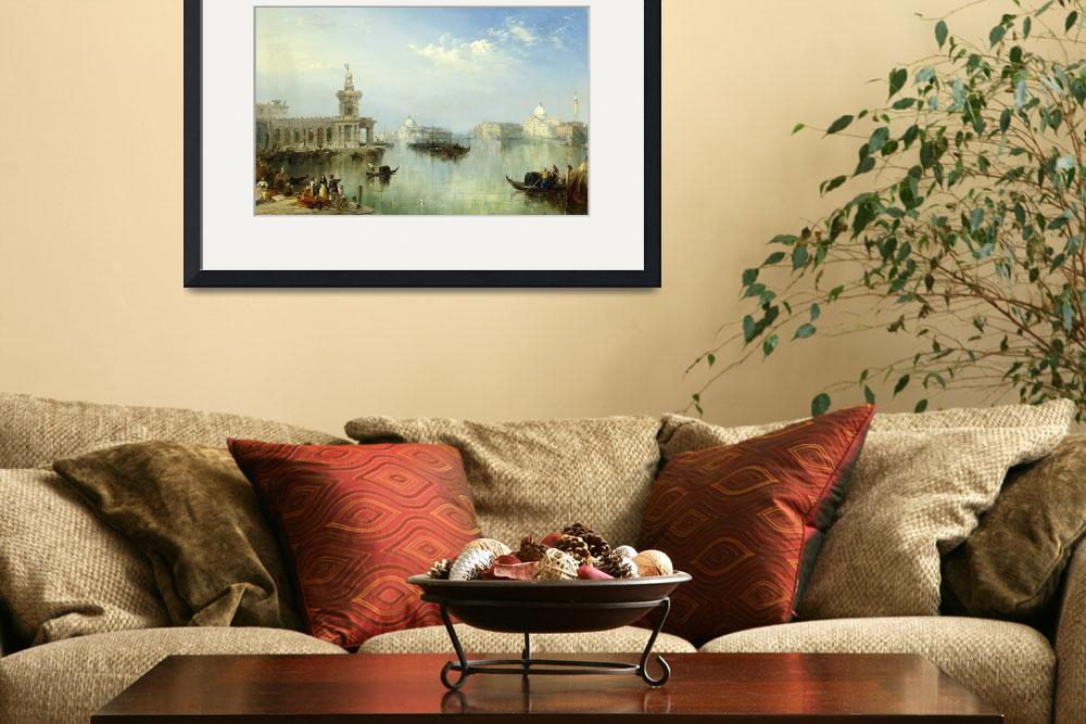 """A View of Venice&quot  by fineartmasters"