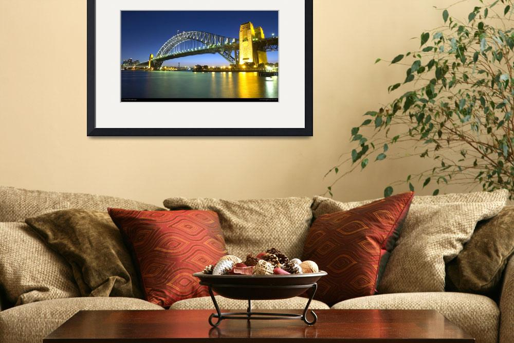 """Sydney Harbour Bridge - Australia&quot  by hangthisphoto"