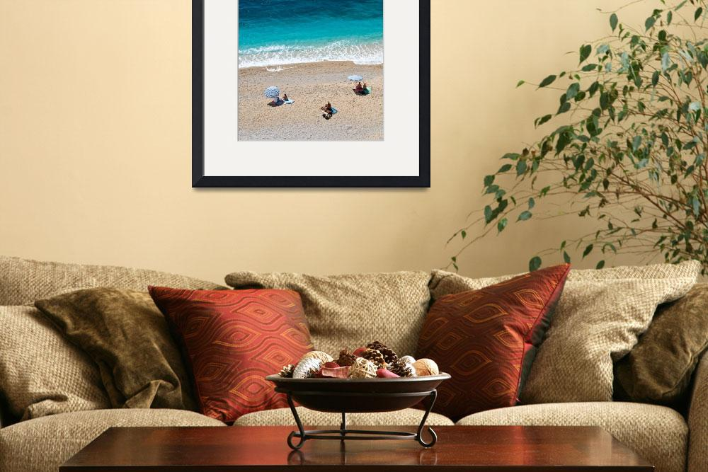 """Kaputas beach in the Turkish Mediterranean&quot  by canbalci"