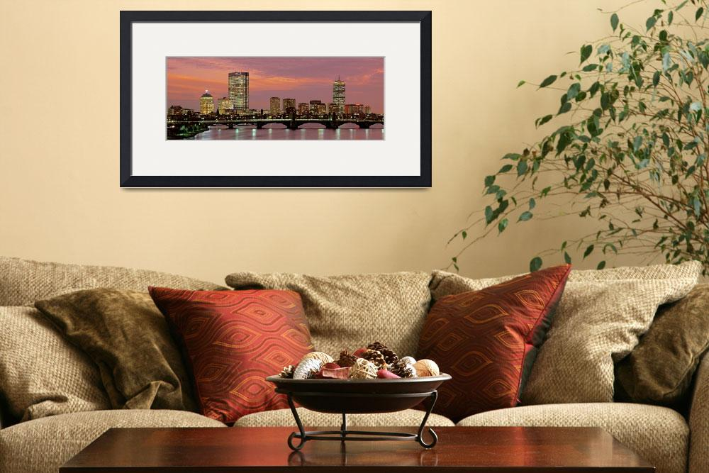 """Boston Back Bay&quot  by IK_Stores"