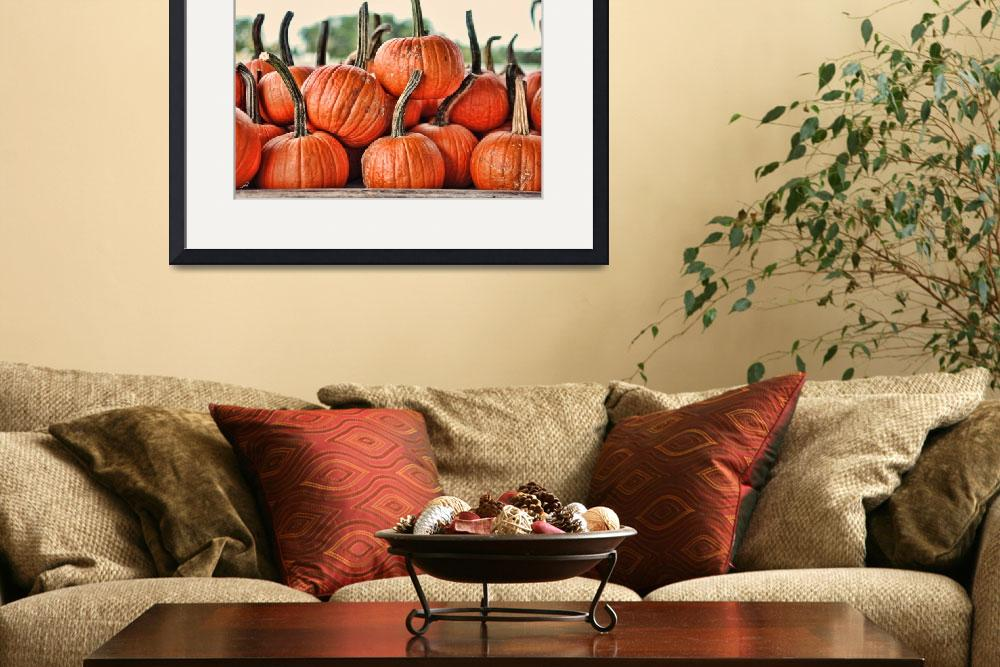"""Dirty Little Pumpkins&quot  by WrightFineArt"