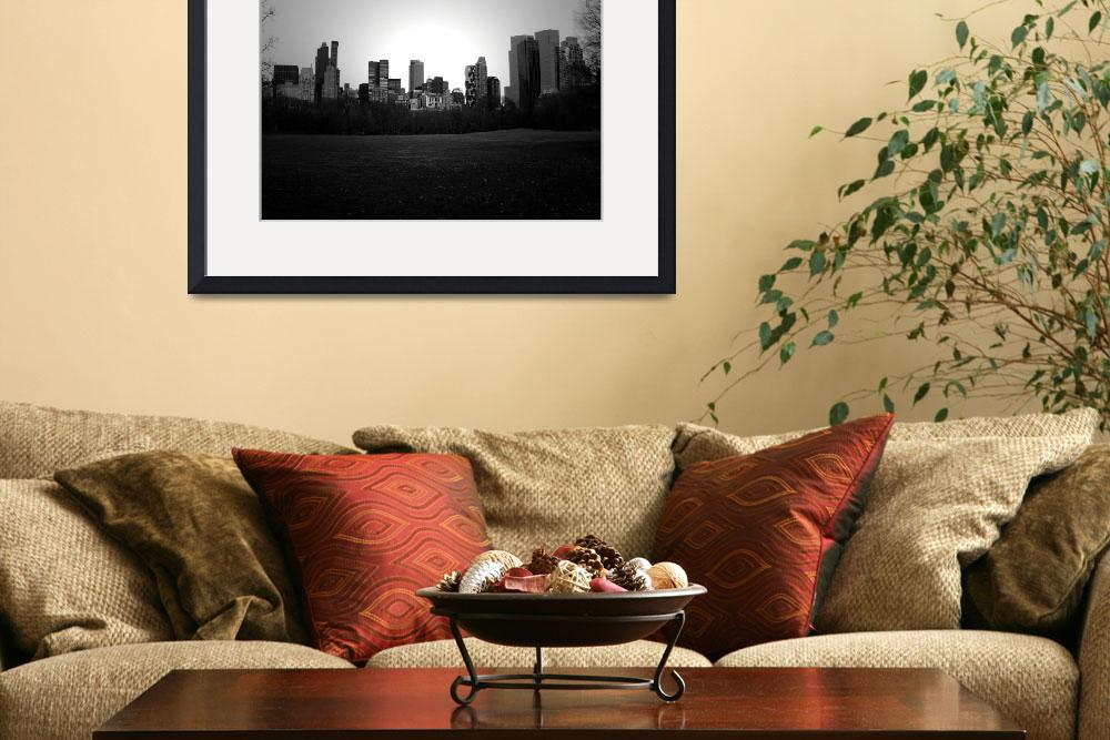 """New York Skyline From The Park 2007&quot  (2007) by mpresya"