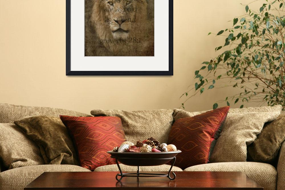 """Bold as a Lion&quot  (2010) by LoriLindsey"
