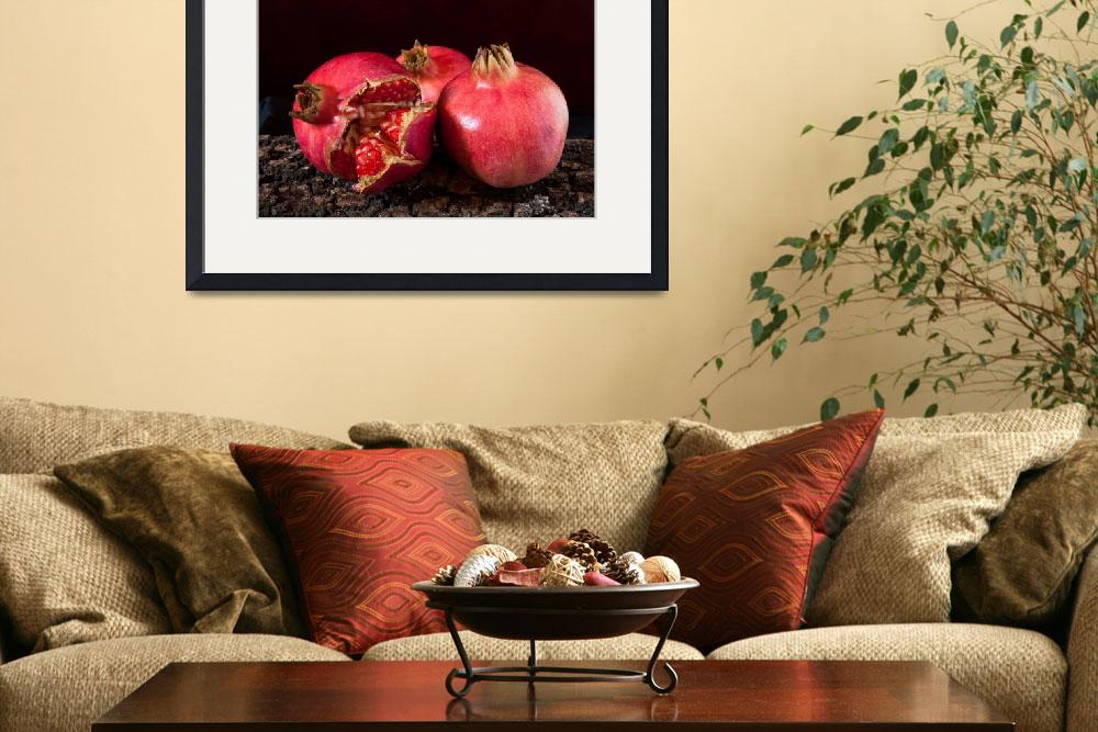 """Pomegranates&quot  (2010) by shopartgallery"