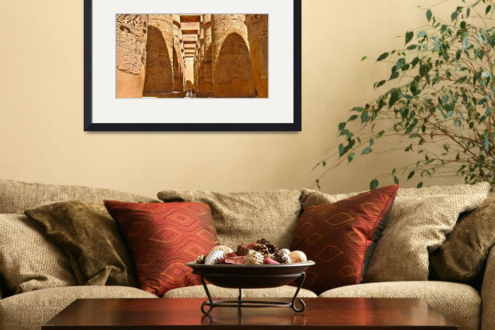 """Egypt - Luxor / Great Hypostyle Hall&quot  (2010) by letlet"