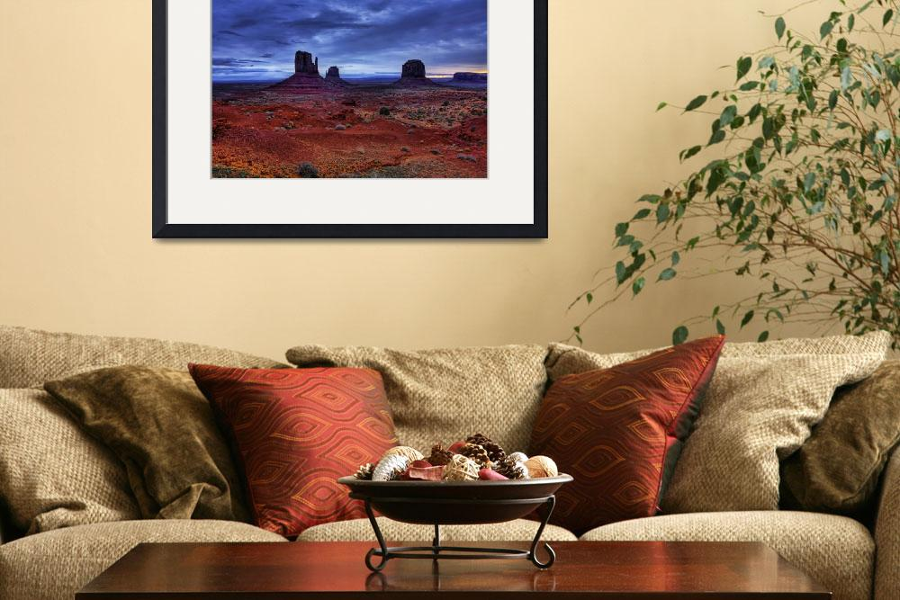 """The Mittens in Monument Valley.&quot  by jpat"