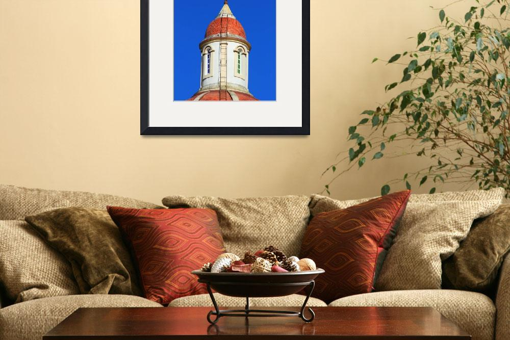 """Dome and Cross on a Church&quot  (2015) by rhamm"