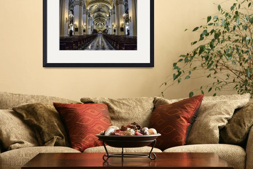 """In Lima Cathedral&quot  (2014) by PaulCoco"
