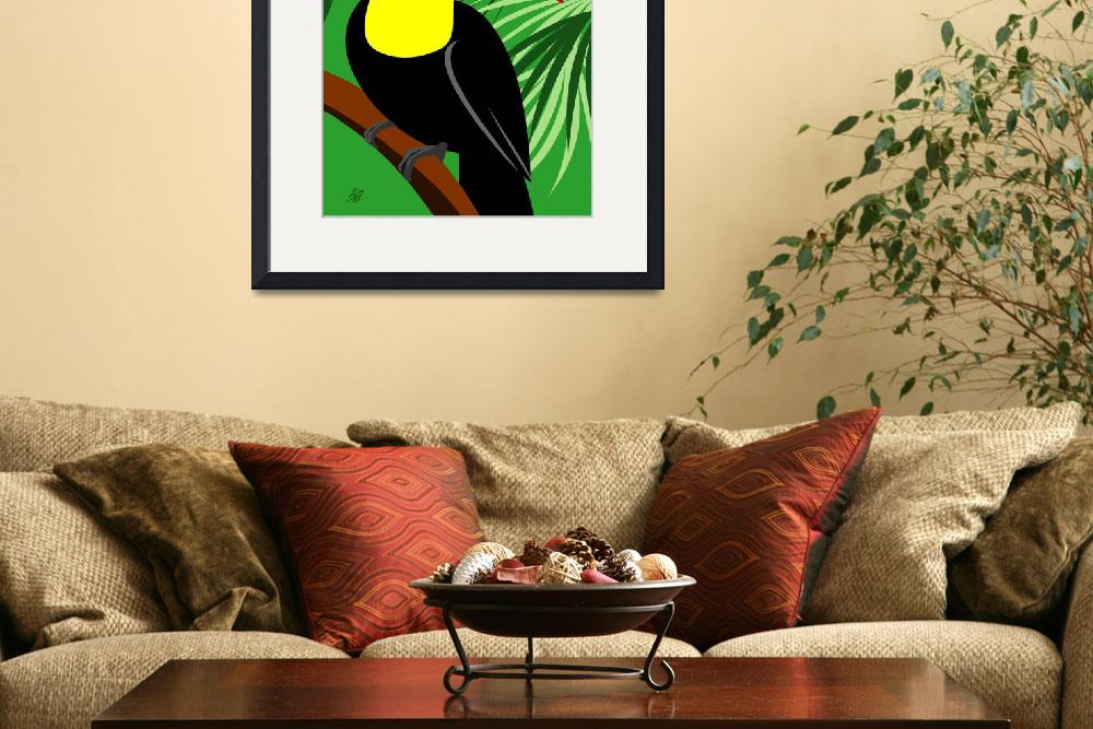 """Toucan&quot  (2011) by waterart"
