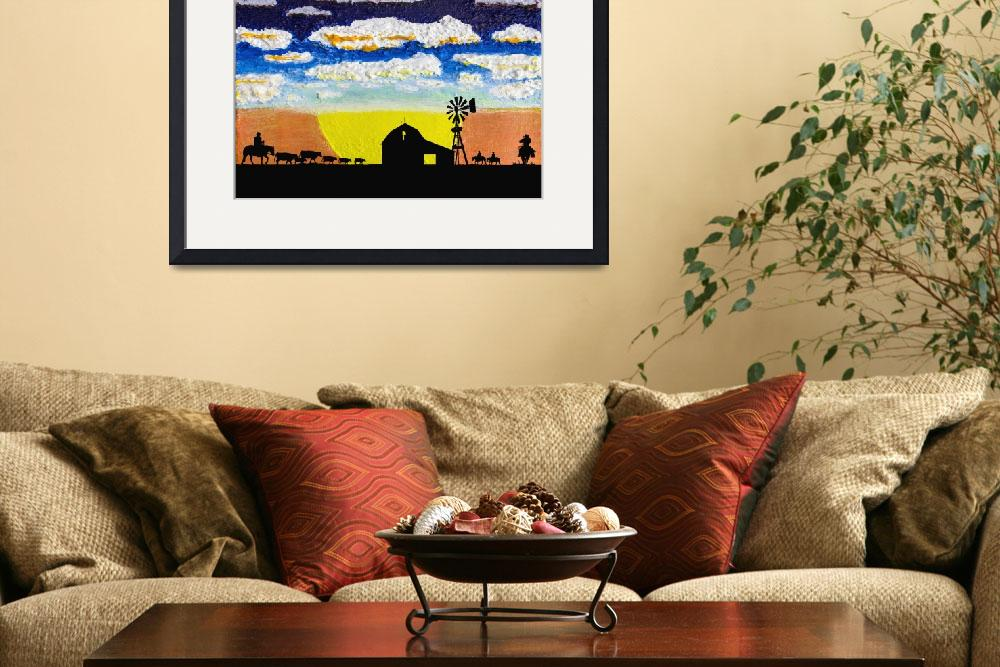 """Original Sunrise Sunset Ranch w1a&quot  (2014) by Ricardos"