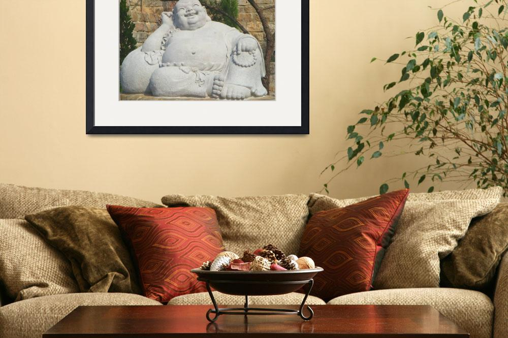 """Laughing buddha&quot  (2013) by lanjee"