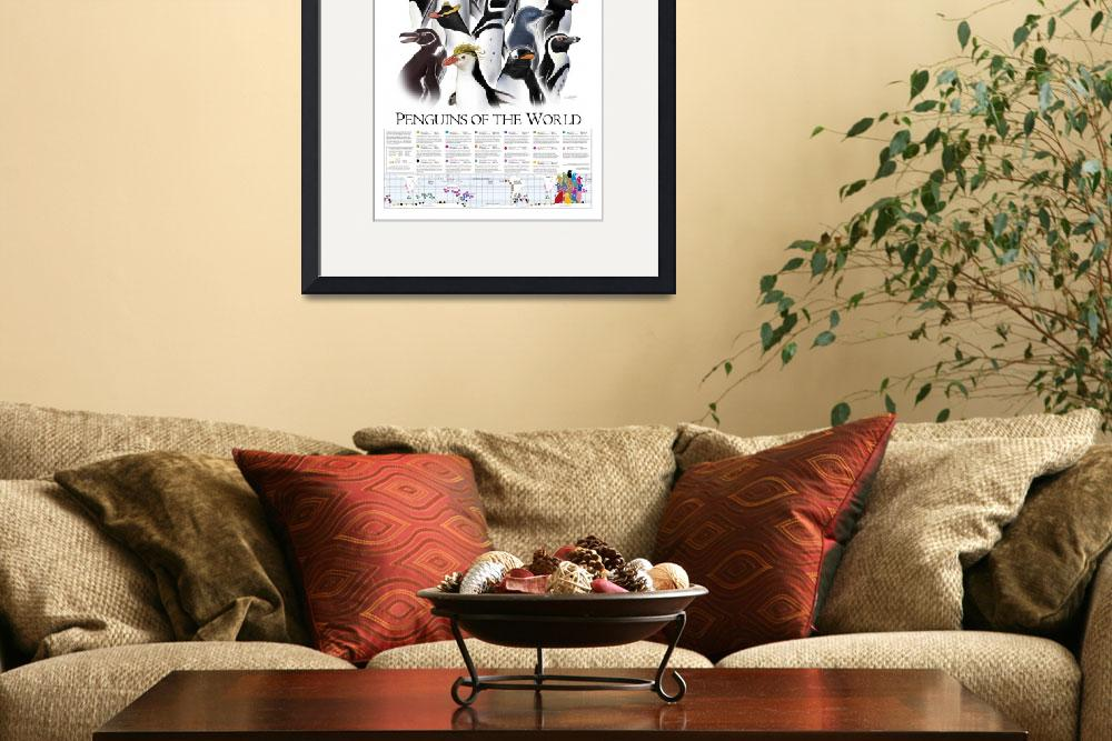 """GotPrint24x36penguinposter_300ppi&quot  (2003) by fairmanstudios"
