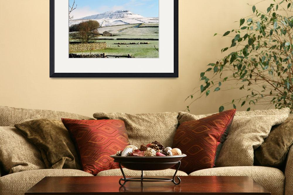 """Pen-y-Ghent Yorkshire Dales UK&quot  by jamesjagger"