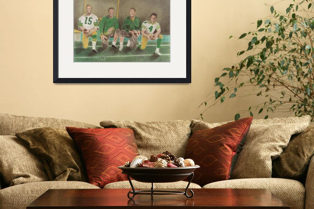 """Green Bay Packers - 1963-1993&quot  (2004) by charcoalchet"