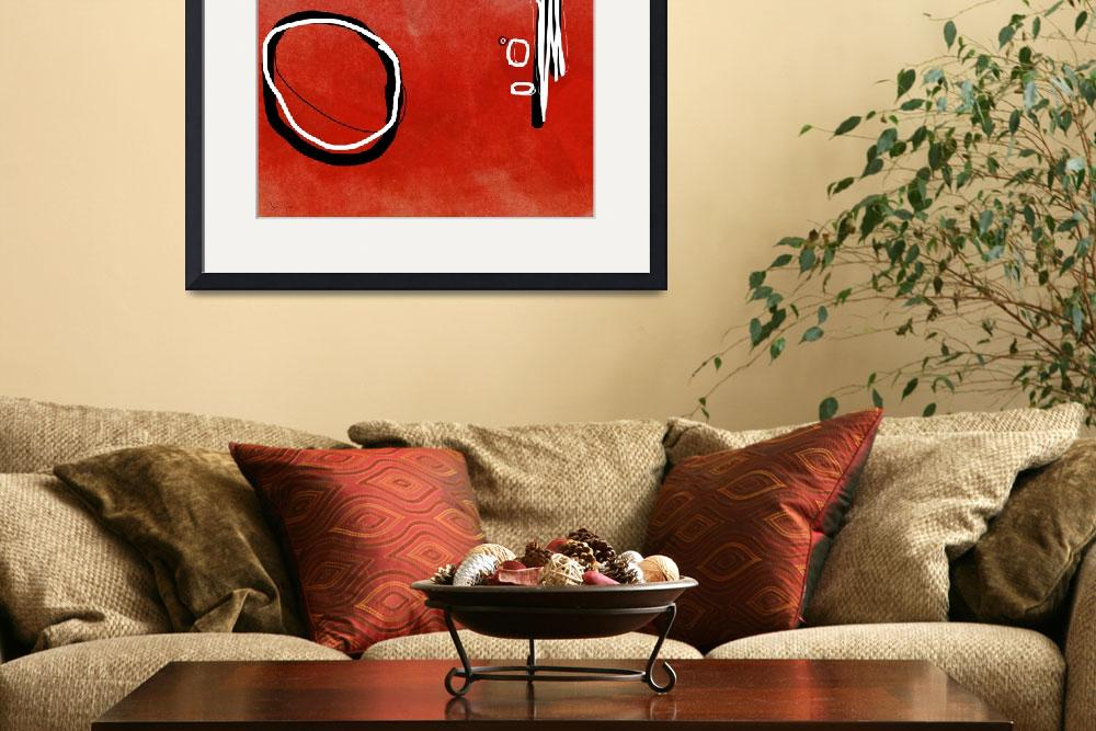 """Red Circle&quot  by ellsworth"