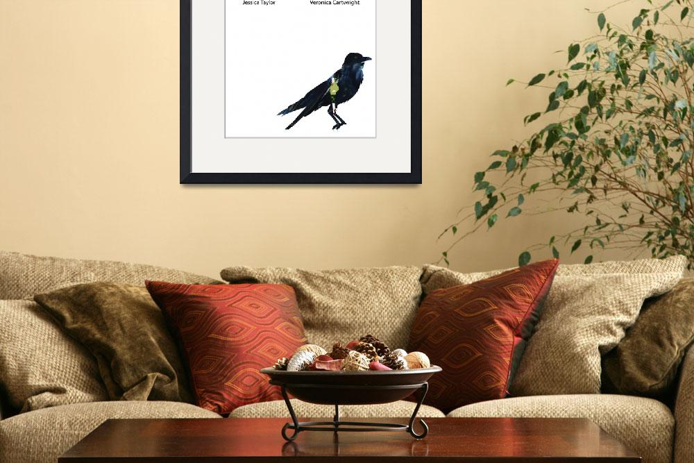 """The Birds Movie Poster&quot  (2010) by DesignWheel"