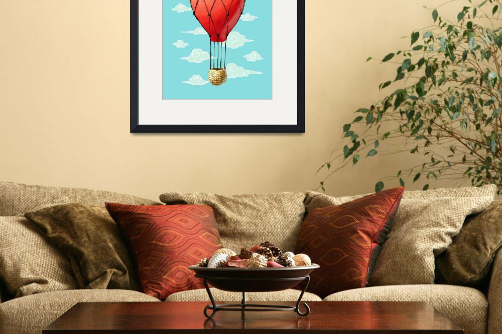 """Hot Air Balloon&quot  (2012) by freeminds"