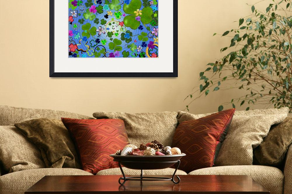 """Find the four leaf clover&quot  (2012) by paintingsbygretzky"