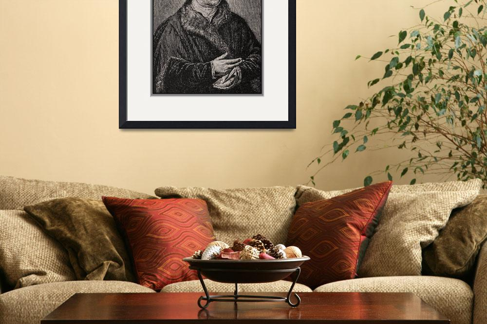 """Martin Luther Portrait Reproduction&quot  (2014) by WilshireImages"