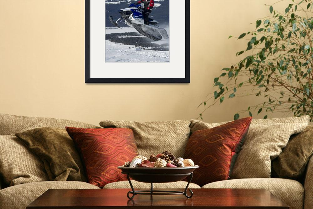 """Sky High Snowmobile&quot  by KalmbachPublishing"