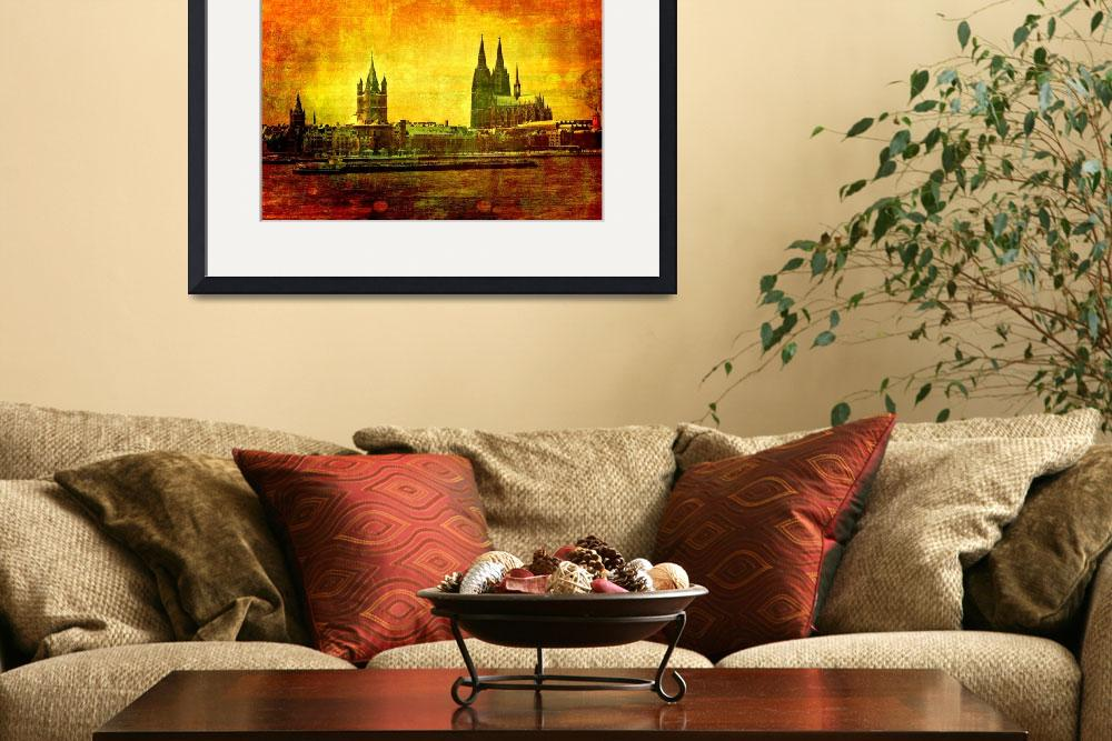 """Cologne Cathedral&quot  (2011) by gabii40"