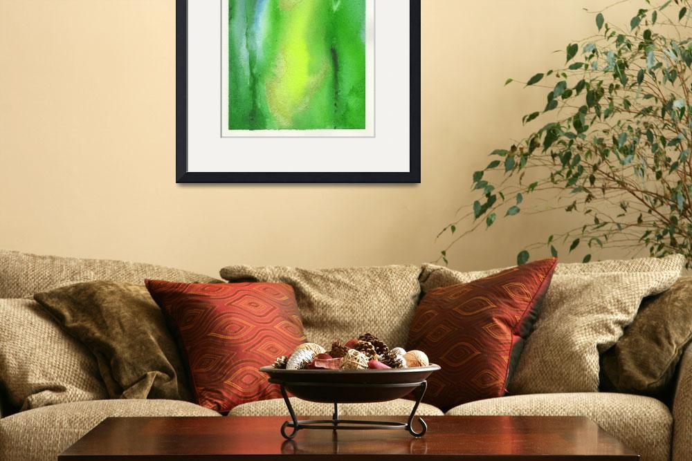 """Feng Shui Energy Green&quot  by energyartistry"