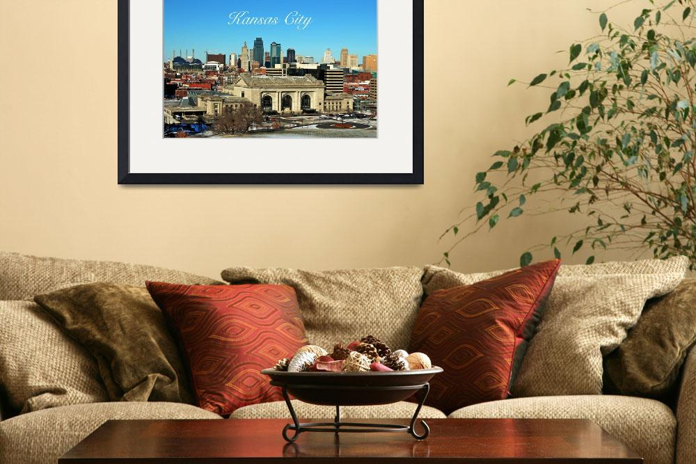 """Kansas City Skyline&quot  (2011) by ideaproductions"