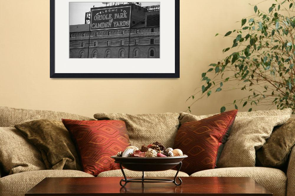 """Baltimore Orioles Park at Camden Yards&quot  (2003) by Ffooter"