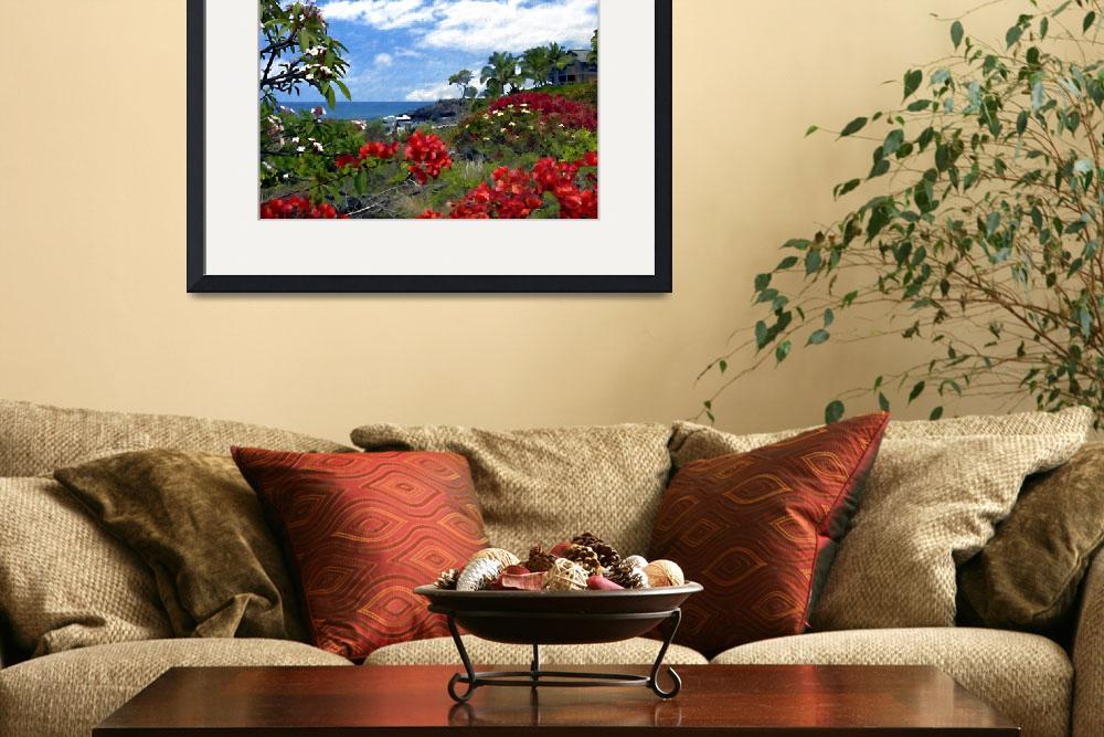 """View from Keauhou, Kona&quot  (2004) by kurt50"