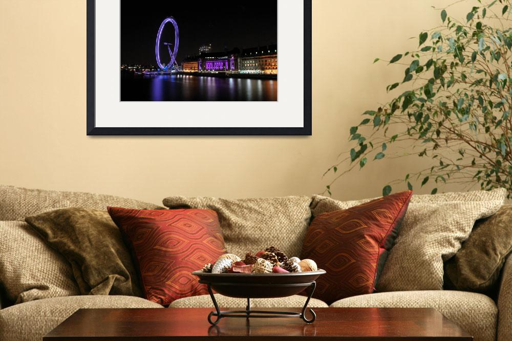 """London Eye spinning&quot  (2009) by Ban_D"
