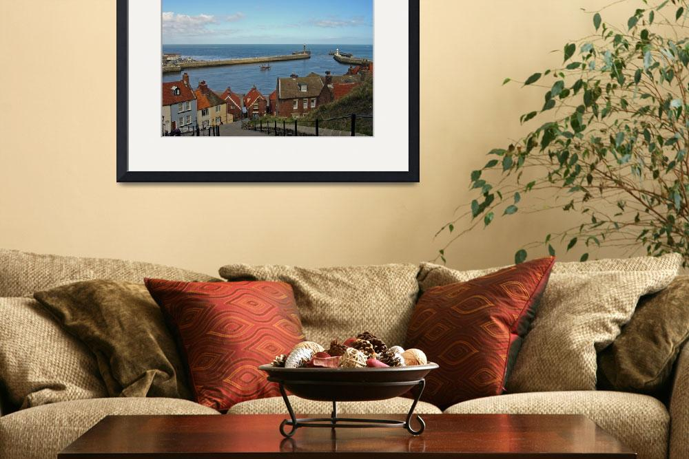 """Whitby Lower Harbour  (15537-RDA)&quot  (2008) by rodjohnson"
