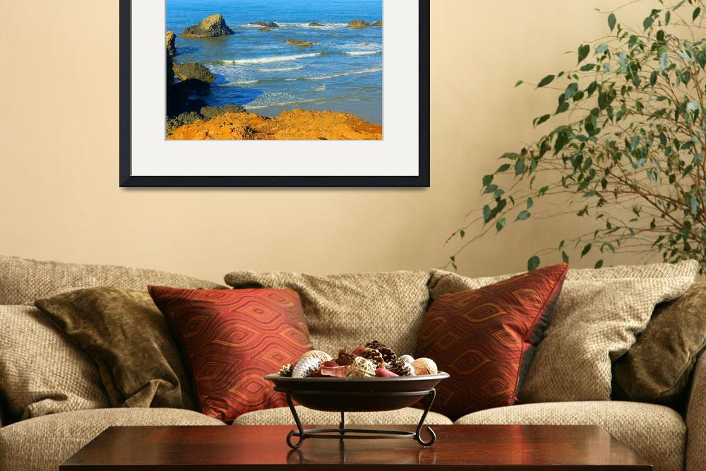 """Stories To Be Told - Pacific Oregon Shores&quot  by artsandi"