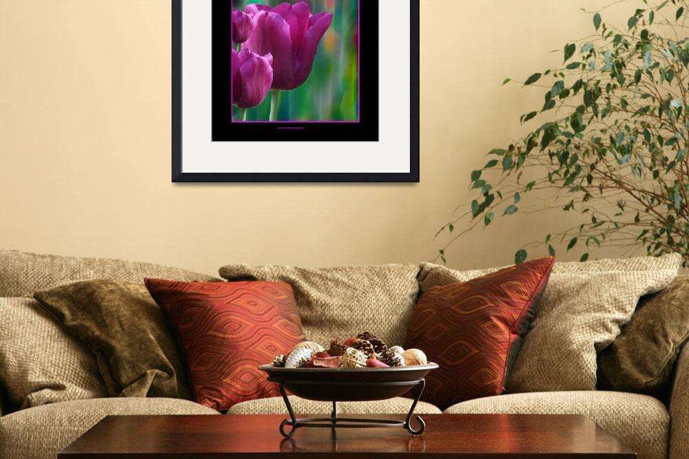 """Pink Tulips&quot  (2009) by artforcancer"