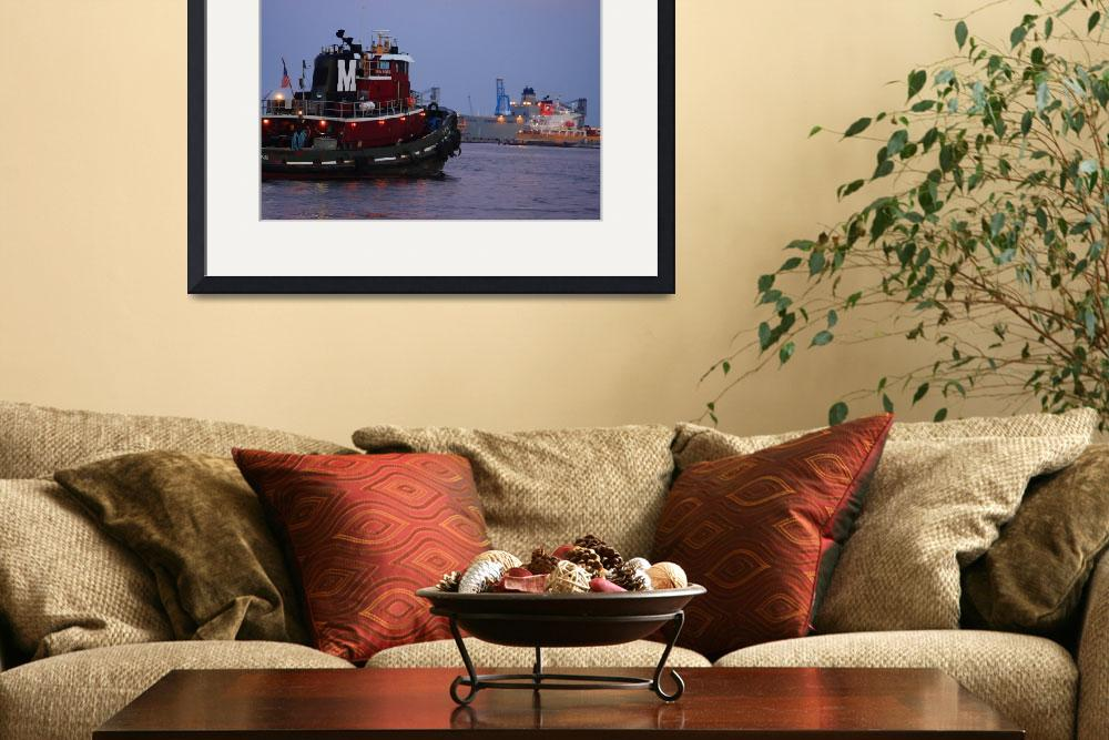 """Fells Point Tugboat&quot  (2008) by robbdee40"