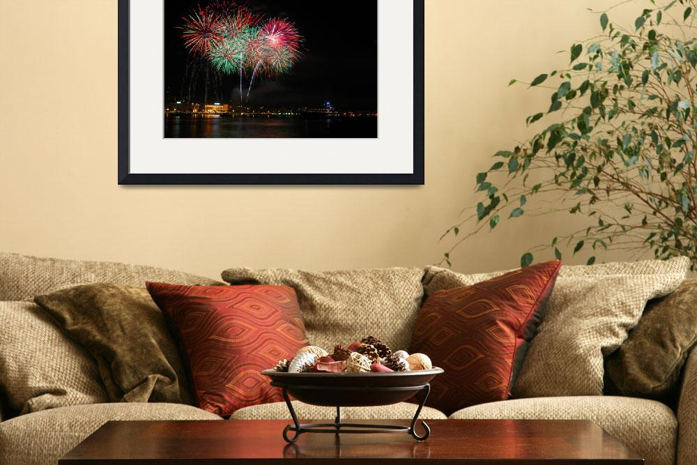 """Fireworks In Cannes&quot  by LeeSmethurst"