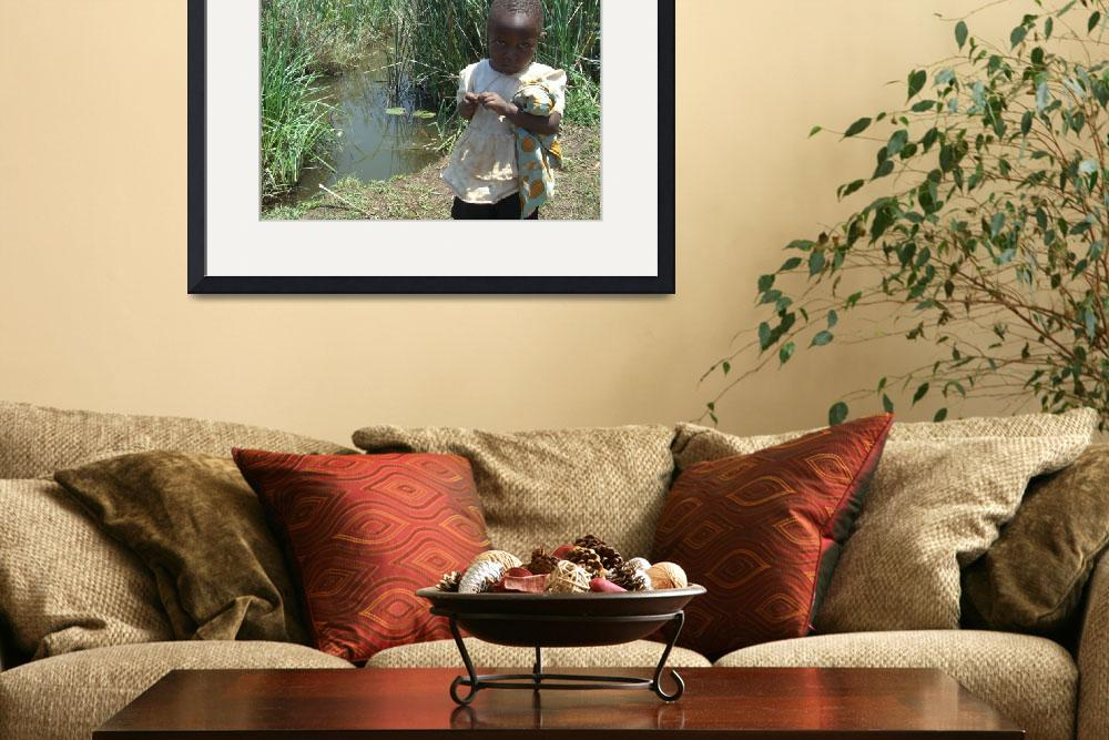 """African Children&quot  (2008) by InspiringImages"