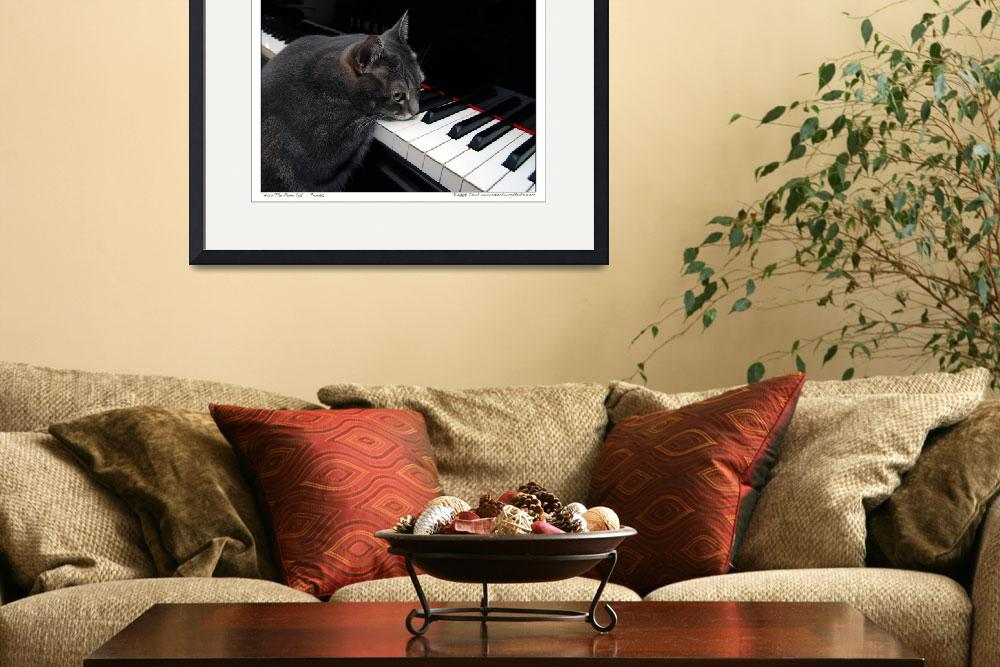 """Nora The Piano Cat™ - n0030&quot  (2008) by ravenswingstudio"