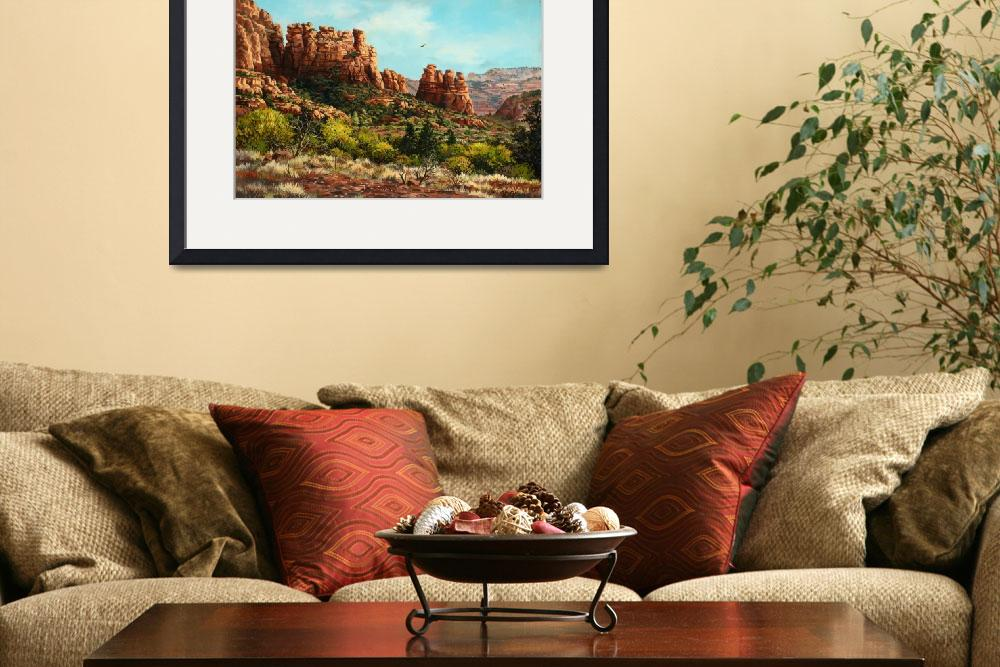 """Sedona Calls&quot  (2006) by scott_fenton55"