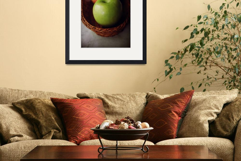 """Two Apples&quot  (2009) by joy_sale"