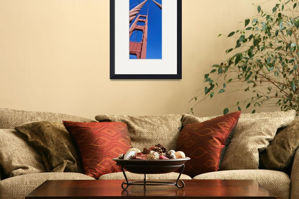 """Golden Gate Bridge San Francisco CA&quot  by Panoramic_Images"